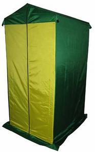 Тент для душа, туалета Пикник 0,9х1,2 мТенты туристические, пляжные, специальные<br>Назначение: предназначен для использования в походных условиях и на дачном участке.<br>Характеристики:<br><br><br><br><br><br><br> Вес:<br><br><br> 10 кг.<br><br><br><br><br> Водонепроницаемость:<br><br><br> 2000 мм.<br><br><br><br><br> Все размеры:<br><br><br> 0.9 х 1.2 м.<br><br><br><br><br> Высота:<br><br><br> Стенки 1.86, в коньке 2.05 м.<br><br><br><br><br> Гарантия:<br><br><br> 1 мес.<br><br><br><br><br> Каркас:<br><br><br> Каркас тента изготовлен из стальной трубы D 18 мм и покрыт порошковой краской, угловые соединения каркаса выполнены из стальной трубы увеличенной толщ<br><br><br><br><br> Комплект поставки:<br><br><br> тент, каркас.<br><br><br><br><br> Материал:<br><br><br> Тент пошит из синтетической ткани Oxford 240D 2000 PU с водоотталкивающей пропиткой, устойчивой к воздействию солнечных лучей.<br><br><br><br><br> Модель:<br><br><br> Тент для туалета.<br><br><br><br><br> Обработка швов:<br><br><br> швы крыши проклеены.<br><br><br><br><br> Особенности:<br><br><br> В задней части тента имеется вентиляционный клапан закрытый антимоскитной сеткой.<br><br><br><br><br> упаковка габариты см:<br><br><br> 123*12*12<br><br><br><br><br>