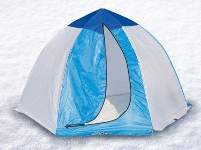 Палатка для зимней рыбалки Стэк 3 (п/автомат)Рыболовные палатки<br>Палатка для зимней рыбалки Стэк 3 (п/автомат) предназначена специально для подледной рыбалки и оснащена всем необходимым. Изготовляют ее из лучших материалов: каркас - высокопрочный дюралевый пруток марки В-95Т1, тент - синтетическая непродуваемая ткань Oxford 150PU. Вес палатки всего 3.8 кг, а размеры в чехле 118*18*18 см, поэтому она не помешает вам при пешем переходе. Вентиляционная система представлена вентиляционным окном на молнии в верхней части купола. Время установки этой модели не превышает 30 секунд, а уникальный каркас зонтичного типа и снего-ветрозащитная юбка делают ее более устойчивой к сильным ветрам. Также в палатке имеется один карман.<br>Характеристики<br><br><br><br><br> Вес:<br><br><br> 3,8 кг.<br><br><br><br><br> Водонепроницаемость:<br><br><br> 1500 мм.<br><br><br><br><br> Все размеры:<br><br><br> 220*260 см.<br><br><br><br><br> Высота:<br><br><br> 160 см.<br><br><br><br><br> Гарантия:<br><br><br> 1 год.<br><br><br><br><br> Каркас:<br><br><br> дюралюминий.<br><br><br><br><br> Материал:<br><br><br> Oxford 150PU<br><br><br><br><br> Особенности:<br><br><br> Вентиляционный клапан, шестигранный каркас.<br><br><br><br><br> Площадь:<br><br><br> 4,19 кв.м.<br><br><br><br><br> упаковка габариты см:<br><br><br> 118*18*18<br><br><br><br><br>