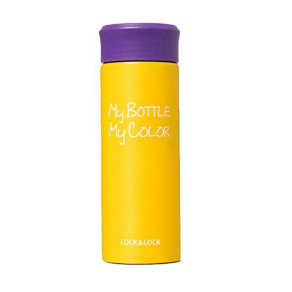 Термос My bottle My color 0,33 мл желтый, (Май Батл), для чая, из нержавеющей стали
