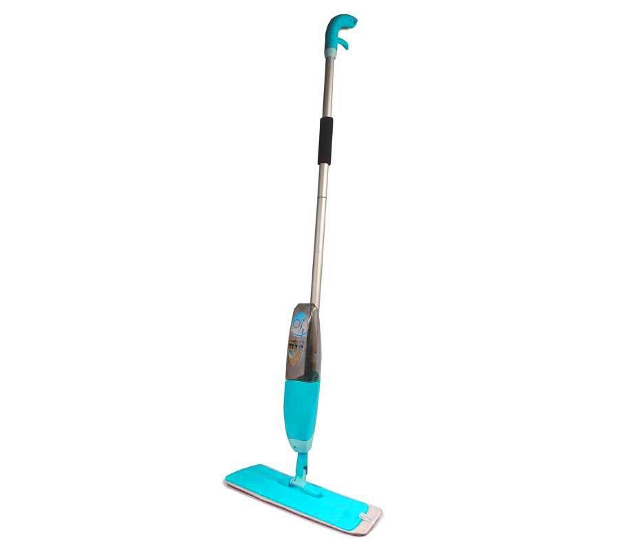 Швабра с распылителем Healthy Spray mop (Спрей моп), для уборки пола в квартире, с насадкой из микрофибрыШвабры с распылителем<br>Швабра с распылителем Healthy Spray mop (Спрей моп)<br><br> Устали от долгих и тяжелых уборок в квартире или доме? Надоело таскать за собой тяжелое ведро с водой, чтобы вымыть пол? Боитесь повредить маникюр?<br><br><br> Хватит терзать себя этими проблемами. Вам просто достаточно купить недорогую швабру с распылителем Healthy Spray mop в нашем интернет магазине по выгодной цене и оставить проблемы с тяжелой уборкой в прошлом.<br><br><br> Она превратит это нелюбимое многими занятие в приятное дело, а ваш дом будет сиять чистотой. И это все без лишних усилий!<br><br><br> <br><br>Особенности швабры с распылителем<br><br> Вам знакомо то чувство, когда предстоит уборка в квартире, особенно мытье полов, а вы ищете миллионы ненужных дел, только чтобы оттянуть начало этого физически тяжелого процесса. Чего только стоит тяжелое ведро с водой и необходимость раз за разом полоскать и отжимать половую тряпку, подвергая руки и маникюр этому испытанию.<br><br><br> К счастью, у нас есть недорогое средство, которое позволит вам забыть об этих мучениях и мыть полы с удовольствием. Речь идет о швабре Healthy Spray mop со встроенным распылителем, которая удачно сочетает в себе портативное ведро – резервуар для воды и/или моющего средства, а также практичную насадку из микрофибры, которая быстро приведет пол в порядок. К тоже же, она прекрасно впитывает воду и совершенно не оставляет разводов на любой твердой поверхности.<br><br><br> Практичная швабра со встроенным распылителем Healthy Spray mop подходит для любых поверхностей, в числе которых ламинат, паркет, линолеим, плитка и прочие. Она быстро справляется с возложенной на нее функцией по очистке пола от загрязнений.<br><br><br> <br><br><br> Помимо этого, Healthy Spray mop позволяет выполнять мытье окон и плитки в ванной комнате в два раза быстрее, чем при традиционном способе. Ведь вам не придется постоян