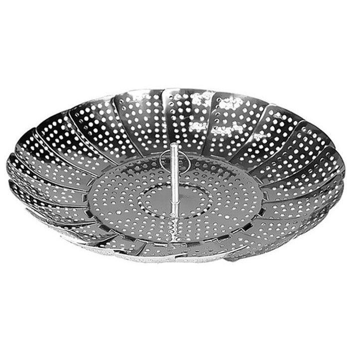 Пароварка ЗдоровьеТовары для кухни<br><br>Лепестковая пароварка Здоровье поможет легко приготовить здоровую пищу с использованием обычной кастрюли. Подходит для кастрюль различного размера.Изготовлена из высококачественной нержавеющей стали.<br><br> Незаменима для приготовления блюд диетической кухни. Используется для отваривания овощей, а также мяса, рыбы и т. д. Сохраняет в отваренных овощах натуральный аромат и витамины. Проста в обращении. Подходит для кастрюль различных диаметров. Может использоваться при сервировке стола. После применения вымыть мягкой щеткой или губкой с использованием жидких моющих средств.<br><br> <br> <br><br><br>Комплектация:<br><br><br>Пароварка -1  шт. <br> Русскоязычная упаковка с русской наклейкой со штрих-кодом<br><br><br> <br> <br><br><br>Технические характеристики:<br><br><br>Цвет: стальной <br> Материал: сталь коррозионностойкая <br> Вес в упаковке: 230 гр. <br> Размер упаковки: 14*6,2*14 см<br><br>