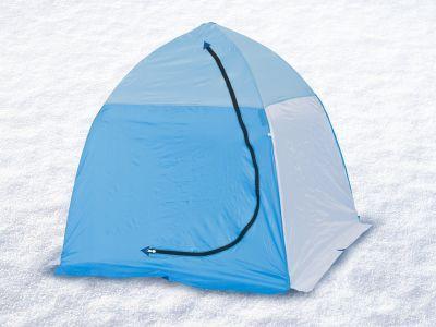 Палатка для зимней рыбалки Стэк 1 (п/автомат)Рыболовные палатки<br>Палатка для зимней рыбалки Стэк 1 (п/автомат) предназначена специально для подледной рыбалки и оснащена всем необходимым. Изготовляют ее из лучших материалов: каркас - высокопрочный дюралевый пруток марки В-95Т1, тент - синтетическая непродуваемая ткань Oxford 150PU. Вес палатки всего 2.6 кг, а размеры в чехле 100*16*16 см, поэтому она не помешает вам при пешем переходе. Вентиляционная система представлена вентиляционным окном на молнии в верхней части купола. Время установки этой модели не превышает 30 секунд, а уникальный каркас зонтичного типа и снего-ветрозащитная юбка делают ее более устойчивой к сильным ветрам. Также в палатке имеется один карман.<br>Характеристики<br><br><br><br><br> Вес:<br><br><br> 2,6 кг.<br><br><br><br><br> Водонепроницаемость:<br><br><br> 1500 мм.<br><br><br><br><br> Все размеры:<br><br><br> 150*150 см.<br><br><br><br><br> Высота:<br><br><br> 150 см.<br><br><br><br><br> Гарантия:<br><br><br> 1 год.<br><br><br><br><br> Каркас:<br><br><br> дюралюминий.<br><br><br><br><br> Материал:<br><br><br> Oxford 150PU<br><br><br><br><br> Особенности:<br><br><br> Вентиляционный клапан, четырехугольная форма.<br><br><br><br><br> Площадь:<br><br><br> 2,25 кв.м.<br><br><br><br><br> упаковка габариты см:<br><br><br> 100*16*16<br><br><br><br><br>