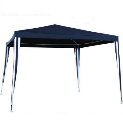 Садовый тент шатер Green Glade 1022Тенты Шатры<br><br> В этом шатре площадью 9 кв. м. комфортно разместится 10 человек.<br><br><br> Садовый тент Green glade 1022 - надежный и удобный шатер, используемый во время отдыха на свежем воздухе. Тент выполнен из полиэстера 140 гр, который отличается устойчивостью к ультрафиолетовым лучам, износостойкостью и чрезвычайной прочностью. Изделие очень просто собрать и разобрать, установку можно осуществить на любой ровной поверхности.<br><br><br> Часто такие шатры используют как тент над бассейном, чтобы туда не попадал мусор, листва, а также чтобы защититься от солнца, а может даже и дождя. А шатры с москитными сетками еще и прекрасно защитят купальщиков от насекомых.<br> В этом шатре, диаметр вписанной окружности которого 3 м, вы сможете разместить круглый бассейн диаметром не более 2,8 м.<br><br>Характеристики<br><br><br><br><br> Вес:<br><br><br> 6 кг.<br><br><br><br><br> Все размеры:<br><br><br> 2,4/3(Д)х2,4/3(Ш)х2,5(В) м. Площадь - 9 кв. м.<br><br><br><br><br> Высота:<br><br><br> 2,5 м.<br><br><br><br><br> Каркас:<br><br><br> Металлическая трубка (19/19/25 мм), пластиковые соединения.<br><br><br><br><br> Материал:<br><br><br> Полиэстр 140 г.<br><br><br><br><br> Особенности:<br><br><br> Карниз зубчатый.<br><br><br><br><br> упаковка габариты см:<br><br><br> 109*14*13<br><br><br><br><br> Цветовое исполнение:<br><br><br> синий.<br><br><br><br><br>