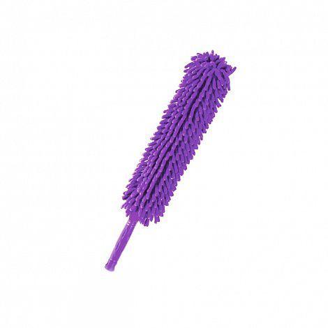 Профессиональная щетка для удаления пыли из микрофибры (гнущаяся ручка) фиолетовая, для уборки дома в квартиреЩетки для удаления пыли<br>Профессиональная щетка для удаления пыли из микрофибры (гнущаяся ручка) фиолетовая<br> <br>Щетка с насадкой из микрофибры для удаления пыли из труднодоступных мест. Щетка с насадкой из микрофибры обладает защитной функцией, мягкий сменный чехол не царапает поверхность. Сменный чехол подходит для машинной стирки. Форма щетки изготовлена на основании результатов тестирования. Щетка подходит для сухой и влажной уборки, изготовлена из экологически чистых материалов.<br> <br>Особенностью щетки является гнущаяся ручка, повернув которую, можно не прилагая особых усилий, протереть поверхность даже на высоком шкафу.<br> <br>Преимущества щетки для удаления пыли:<br> <br>- Гнущаяся ручка<br> <br>- Подходит для любых поверхностей (тканевых, шероховатых, труднодоступных)<br> <br>- Не нужно постоянно смывать ставшую грязью пыль, как это происходит с салфетками<br> <br>- На уборку с щеткой уходит гораздо меньше времени<br> <br>- Уборка становится интересной и желанной, сразу появляются желающие помочь<br> <br>Характеристики:<br> <br>Длина: 56см<br> <br>Материал: микрофибра, металл<br> <br>Купить щетку для удаления пыли<br> <br>Купить щетку для удаления пыли, можно в нашем интернет магазине, мы осуществляем доставку по Москве, Санкт-Петербургу и другим городам и регионам России. Наши операторы всегда будут рады рассказать об особенностях щетки.<br> <br>Для оптовых покупателей<br> <br>Чтобы купить щетку для удаления пыли оптом, необходимо связаться с нашими операторами по телефонам, указанным на сайте. Вы сможете получить значительную скидку от розничной цены в зависимости от объема заказа.<br> <br>Для получения информации о покупке товаров посетите раздел Оптовых продаж.<br>