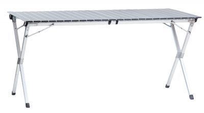 Стол складной Green Glade 5203Кемпинговая мебель<br>Большой, удобный стол для отдыха на природе. Позволяет вмещать компанию до 8 человек. Благодаря продуманной конструкции выполненной из алюминия стол получился очень легким. Прекрасно подходит для вылазок на природу, кемпинга, рыбалки, охоты, походов. Можно использовать как дачный столик, устанавливая его внутри и снаружи помещений. <br> Стол складной Green Glade 5203 имеет столешницу 70*140 см. Высота 70 сантиметров. Очень компактно складывается в чехол для транспортировки. Отлично влазит в багажник авто. Ножки стола обеспечивают великолепную устойчивость. Стол не гниет, не ржавеет, не выцветает и прекрасно выдерживает уличные условия эксплуатации.<br>Характеристики<br><br><br><br><br> Вес:<br><br><br> 5,6 кг.<br><br><br><br><br> Все размеры:<br><br><br> 140*70*70 см .<br><br><br><br><br> Гарантия:<br><br><br> 6 месяцев.<br><br><br><br><br> Каркас:<br><br><br> алюминий 11 мм.<br><br><br><br><br> Материал:<br><br><br> Алюминий ? 32х25 мм. OXFORD 600<br><br><br><br><br> упаковка габариты см:<br><br><br> 142*12*13<br><br><br><br><br>