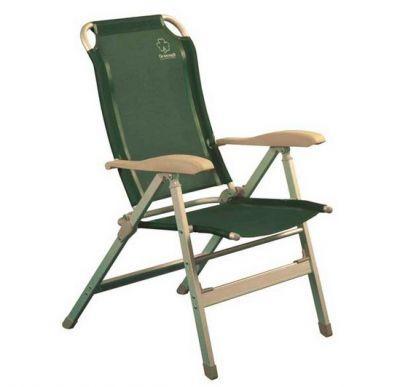 Кресло складное Greenell FC-10 (71101-303-00)Кемпинговая мебель<br><br> Кресло FC-10 отличается повышенной прочностью и комфортностью. <br><br><br> Вы можете выбрать оптимальный для Вас наклон спинки из 6 возможных. <br><br><br> Сиденье и спинка дополнительно утеплены пенкой, так что Вам будет уютно даже в прохладную погоду.<br><br><br> Кресло с регулировкой наклона спинки.<br> 8 положений фиксируются подлокотниками.<br> Сиденье и спинка из сетчатого полиэстра. <br><br><br> Легко моется, стоек к ультрафиолету.<br><br>Характеристики<br><br><br><br><br> Max вес пользователя:<br><br><br> до 120 кг.<br><br><br><br><br> Вес:<br><br><br> 4,34 кг<br><br><br><br><br> Все размеры:<br><br><br> 49*43*42/113 см<br><br><br><br><br> Гарантия:<br><br><br> 6 месяцев.<br><br><br><br><br> Каркас:<br><br><br> Матовый алюминий 32х20 мм, 50х16 мм<br><br><br><br><br> Материал:<br><br><br> Сетчатый полиэстер<br><br><br><br><br> упаковка габариты см:<br><br><br> 112*59*9<br><br><br><br><br>