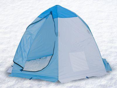 Палатка для зимней рыбалки Стэк 2 (п/автомат)Рыболовные палатки<br>Палатка для зимней рыбалки Стэк 2 (п/автомат) предназначена специально для подледной рыбалки и оснащена всем необходимым. Изготовляют ее из лучших материалов: каркас - высокопрочный дюралевый пруток марки В-95Т1, тент - синтетическая непродуваемая ткань Oxford 150PU. Вес палатки всего 3.3 кг, а размеры в чехле 115*10*10 см, поэтому она не помешает вам при пешем переходе. Вентиляционная система представлена вентиляционным окном на молнии в верхней части купола. Время установки этой модели не превышает 30 секунд, а уникальный каркас зонтичного типа и снего-ветрозащитная юбка делают ее более устойчивой к сильным ветрам. Также в палатке имеется один карман.<br>Характеристики<br><br><br><br><br> Вес:<br><br><br> 3,3 кг.<br><br><br><br><br> Водонепроницаемость:<br><br><br> 1500 мм.<br><br><br><br><br> Все размеры:<br><br><br> 190*220 см.<br><br><br><br><br> Высота:<br><br><br> 150 см.<br><br><br><br><br> Гарантия:<br><br><br> 1 год.<br><br><br><br><br> Каркас:<br><br><br> дюралюминий.<br><br><br><br><br> Материал:<br><br><br> Oxford 150PU<br><br><br><br><br> Особенности:<br><br><br> Вентиляционный клапан, шестигранный каркас.<br><br><br><br><br> Площадь:<br><br><br> 3,13 кв.м.<br><br><br><br><br> упаковка габариты см:<br><br><br> 115*10*10<br><br><br><br><br>