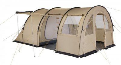 Палатка Trek Planet Vario 4 (70247)Туристические палатки<br>Просторная семейная палатка в форме полубочки. <br> Огромный внутренний тамбур. <br> Большие обзорные и вентиляционные окна в тамбуре. <br> Два входа в тамбур. <br> Москитные сетки на одном входе в тамбур и входах во внутреннюю палатку. Органайзер на внешней стенки внутренней палатки. <br> Две комнаты во внутренней палатке. <br> Защитная юбка по периметру. <br> Внутренние карманы для мелочей. <br> Возможность подвески фонаря в палатке. <br> Водостойкость 3000 мм. <br> Швы проклеены.<br>Характеристики:<br><br><br><br><br> Вес:<br><br><br> 15,5 кг.<br><br><br><br><br> Водонепроницаемость:<br><br><br> Тент 3000 мм, дно 10000 мм.<br><br><br><br><br> Все размеры:<br><br><br> Внешняя палатка 510(Д)x320(Ш)x200(В) см, внутренняя палатка 240(Д)x310(Ш)x200(В) см.<br><br><br><br><br> Высота:<br><br><br> 200 см.<br><br><br><br><br> Каркас:<br><br><br> фиберглас 11 мм, сталь 16 мм.<br><br><br><br><br> Материал внутренний:<br><br><br> 100% дышащий полиэстер.<br><br><br><br><br> Материал пола:<br><br><br> армированный полиэтилен (tarpauling).<br><br><br><br><br> Материал внешний:<br><br><br> 100% полиэстер, пропитка PU.<br><br><br><br><br> Обработка швов:<br><br><br> проклеенные швы.<br><br><br><br><br> Особенности:<br><br><br> Дуги стеклопластик 11,0 мм + сталь 16 мм на выносные стойки. Две комнаты.<br><br><br><br><br> упаковка габариты см:<br><br><br> 30*30*70<br><br><br><br><br> Цветовое исполнение:<br><br><br> песочный.<br><br><br><br><br>