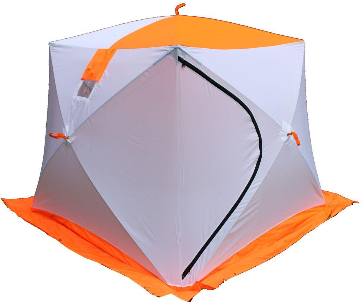Палатка рыбака Пингвин ПризмаПалатки Пингвин<br><br> Зимняя палатка ПРИЗМА© имеет форму куба, что позволяет рыбакам рационально использовать пространство. Сверлить лунки теперь можно прямо в установленной палатке. Габариты ПРИЗМЫ позволяют делать это без каких-либо неудобств. В отличии от классических палаток ПИНГВИН™, палатка ПРИЗМА более ветроустойчива. Благодаря своей конструкции палатка выдерживает порывистый ветер, даже без использования ввертышей. Из удобств - теперь при сборке палатки, Вам не нужно заботиться о том, чтобы ткань была расправлена и случайно не зажата прутками, поэтому сборка происходит ещё быстрее. Все палатки ПРИЗМА© выполнены из ткани Оксфорд 240, которая выдерживает столб воды не менее 2000мл. Это обеспечивает долговечность и непродуваемость палатки. В зависимости от модели, палатка может быть оснащена дышащим материалом. Палатка имеет 2 форточки выполненных с применением прозрачной морозостойкой пленки Основной цвет белый с цветной крышей и порогами, по желанию палатка может быть полностью белой, на наружном тенте имеются светоотражающие элементы что немаловажно для безопасности на льду в темное время суток.<br><br><br><br><br> Три внутренних кармана треугольной формы, один из них сдвоенный.<br><br>Характеристики<br><br><br><br><br> Вес:<br><br><br> 6.4 кг.<br><br><br><br><br> Водонепроницаемость:<br><br><br> 2000 мм.<br><br><br><br><br> Все размеры:<br><br><br> 185*185 см.<br><br><br><br><br> Высота:<br><br><br> 175 см, по стенке 150 см.<br><br><br><br><br> Гарантия:<br><br><br> 1 год.<br><br><br><br><br> Каркас:<br><br><br> алюминиевый пруток В95Т1 диаметр 8мм.<br><br><br><br><br> Материал:<br><br><br> Оксфорд 240 с полиуретановой пропиткой (PU 2000).<br><br><br><br><br> Особенности:<br><br><br> три сдвоенных кармана, две форточки.<br><br><br><br><br> Площадь:<br><br><br> 3,42 кв.м.<br><br><br><br><br> упаковка габариты см:<br><br><br> 133*20*20<br><br><br><br><br>