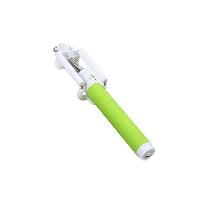 Монопод  Easyph ALL-IN-ONE с Bluetooth (зеленый)Аксессуары для смартфонов<br>Вам хочется быть в кадре со всей компанией, а не фотографироваться по очереди?<br><br><br><br>С моноподом Easyph ALL-IN-ONE с Bluetooth (зеленым) теперь все будут на одном снимке!<br><br><br><br>Монопод совместим с любым смартфоном на базе iOS и Android. Держательнадёжно фиксирует Ваш гаджет с помощью удобного зажима и позволяет выбирать оптимальную дистанцию для снимка при помощи телескопической рукоятки. Желоб, проходящий по всей длине монопода, не позволяет секциям прокручиваться.Прорезиненная ручка не даёт рукам скользить. Имея складной механизм, монопод поместится даже в дамскую сумочку.<br><br>    <br>      Незаменимый верный спутник всех любителей селфи. Поможет сделать идеальные фото и видео. Малый вес и компактный размер аксессуара позволят с лёгкостью брать его с собой.<br>    <br>      Делайте отличные селфи в любых условиях!<br>          <br>        <br>    <br>  <br>    Отличительные особенности:<br>  <br>    - Работа через Bluetooth<br>      <br>    - Желоб прочности<br>      <br>    - Отверстие для шнурка<br>        <br>      - Прорезиненная ручка<br>  <br>    <br>        Способ применения:<br>      <br>      <br>    <br>      Зарядите монопод при необходимости. Включите его. Синхронизируйте с Вашим смартфоном. Монопод отобразится на Вашем гаджете как Easypho. Установите градус наклона смартфона, медленно поворачивая держатель. Вставьте смартфон в держатель и включите камеру. Нажмите кнопку спуска затвора на моноподе, чтобы сделать снимок.<br>    <br>      <br>        <br>      <br>    <br>      Не упустите важные моменты Вашей жизни с моноподом Easyph ALL-IN-ONE с Bluetooth (зеленым)!<br>    <br>  <br>    Комплектация:<br>  <br>    Монопод – 1 шт.<br>        <br>      Крепление для телефона - 1 шт.<br>        <br>      Шнур USB – 1 шт.<br>        <br>      Инструкция на русском языке<br>        <br>      Оригинальная упаковка<br>        <br>      Фирменная наклейка КМД-групп