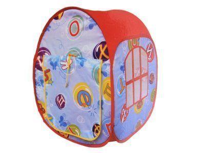 Детская палатка TX18731Тенты туристические, пляжные, специальные<br>Игровая палатка для детей увлечет и заинтересует Ваших маленьких непосед.<br> 2 варианта расцветок: голубой, розовый.<br>Характеристики:<br><br><br><br><br><br><br> Вес:<br><br><br> 0,5 кг<br><br><br><br><br> Все размеры:<br><br><br> 50*50*65 см<br><br><br><br><br> Гарантия:<br><br><br> 1 месяц.<br><br><br><br><br> Материал:<br><br><br> Материал: полиэстер, Каркас: сталь<br><br><br><br><br> упаковка габариты см:<br><br><br> 25*25*5<br><br><br><br><br>