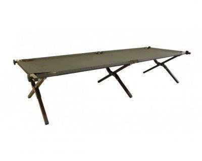 Кровать туристическая раскладушка Митек ЛюксКемпинговая мебель<br>Митек Люкс это надежная, качественная, удобная раскладушка отечественного производства. Прочный стальной каркас диаметром 25 мм. Изготовлена из ткани Oxford 600D. Максимально допустимая нагрузка 200 кг. Транспортировочная сумка в комплекте.<br>Характеристики<br><br><br><br><br> Max вес пользователя:<br><br><br> 200 кг.<br><br><br><br><br> Вес:<br><br><br> 7 кг.<br><br><br><br><br> Все размеры:<br><br><br> 190(Д)х64(Ш)х43(В) см.<br><br><br><br><br> Высота:<br><br><br> 43 см.<br><br><br><br><br> Гарантия:<br><br><br> 1 год<br><br><br><br><br> Каркас:<br><br><br> Стальная труба 25 мм.<br><br><br><br><br> Комплект поставки:<br><br><br> раскладушка, сумка.<br><br><br><br><br> Материал:<br><br><br> Oxford плотностью 600 D<br><br><br><br><br> Особенности:<br><br><br> каркас покрыт порошковой краской<br><br><br><br><br> упаковка габариты см:<br><br><br> 95*24*13<br><br><br><br><br>