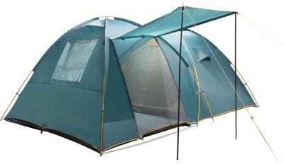 Палатка Greenell Трим 4Туристические палатки<br><br> Кемпинговая палатка, которую можно использовать без растяжек.<br><br><br> Два входа, один большой тамбур. Проточная вентиляция тамбура. Возможна установка тента без растяжек и внутренней палатки.<br><br><br> В комплекте колышки из алюминия. <br><br><br> <br><br><br> Особенности конструкции      <br> Проклеенные швы     <br> Ветрозащитная юбка     <br> Противомоскитная сетка     <br> Петли для фонаря     <br> Карманы     <br> Прозрачные окна<br><br>Характеристики:<br><br><br><br><br><br><br> Вес:<br><br><br> 12 кг.<br><br><br><br><br> Водонепроницаемость:<br><br><br> 3000 мм.<br><br><br><br><br> Все размеры:<br><br><br> Внешняя палатка 420(Д)x290(Ш)x170(В) см, внутренняя палатка 220(Д)x280(Ш)x160(В) см.<br><br><br><br><br> Высота:<br><br><br> 170 см.<br><br><br><br><br> Каркас:<br><br><br> фиберглас 11 мм, сталь 16 мм.<br><br><br><br><br> Материал внутренний:<br><br><br> Polyester 190T дышащий.<br><br><br><br><br> Материал пола:<br><br><br> армированный полиэтилен (tarpauling).<br><br><br><br><br> Материал внешний:<br><br><br> Poly Taffeta 190T PU 3000.<br><br><br><br><br> Обработка швов:<br><br><br> проклеенные швы.<br><br><br><br><br> упаковка габариты см:<br><br><br> 68*47*23<br><br><br><br><br>