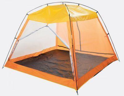 Палатка пляжная Trek Planet/GOGARDEN Malibu Beach 70251/50210Тенты туристические, пляжные, специальные<br><br> Пляжный тент TREK PLANET Malibu Beach, обеспечивает защиту от солнца, ветра и даже легких осадков - особенно полезен для очень маленьких детей. Тент полностью закрывается, очень прост в установке, имеет малый вес и удобный чехол с ручкой для переноски.<br><br><br> Его размер 210*210 см, по периметру с трех сторон москитные сетки, и с одной стороны глухая стенка. Все стенки закрываются на молнии. При желании их можно открыть по середине и снизу, развести в стороны и закрепить специальными креплениями на дугах. Таким образом, получится целиком открытый тент,  защищающий сверху от солнца. <br><br><br> Одна закрытая глухая стенка предназначена для того, чтобы можно было скрыться от палящего бокового солнца, ветра или дождя. Поверните палатку нужной стороной, и ребенок всегда будет играть в тени. Застегните москитные сетки на трех других сторонах, если одолевают насекомые. Крыша шатра имеет пропитку от дождя, и в нем вполне можно переждать небольшой дождь.<br><br><br> Особенности модели:<br><br><br> - Простая и быстрая установка,<br> - Тент палатки из полиэстера, с пропиткой PU<br> - Одна сторона шатра из полиэстера, защищает от ветра легкого дождя, также является дверью с молнией по центру, удобно сворачивающейся в стороны,<br> - Три другие стороны из москитной сетки позволяют шатру отлично проветриваться, защищая от насекомых,<br> - Дверь из москитной сетки с молнией по центру, удобно сворачивается в стороны,<br> - Каркас выполнен из прочного стеклопластика,<br> - Дно изготовлено из прочного армированного полиэтилена.<br><br>Характеристики:<br><br><br><br><br><br><br> Вес:<br><br><br> 2.10 кг.<br><br><br><br><br> Водонепроницаемость:<br><br><br> 800 мм в.ст.<br><br><br><br><br> Все размеры:<br><br><br> 210*210*150 см.<br><br><br><br><br> Высота:<br><br><br> 150 см.<br><br><br><br><br> Гарантия:<br><br><br> 6 месяцев.<br><br><br><br><br> Каркас:<br><br><br> Дуг