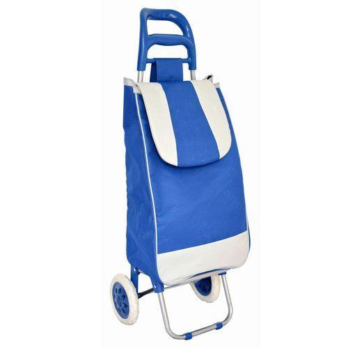 Сумка-тележка хозяйственная A2D синяя, на колесах для дачи, для перевозки продуктовСумки-тележки<br>Сумка-тележка хозяйственная A2D синяя<br> <br> <br>  <br> <br> <br>Легкая хозяйственная сумка на колесах A2D - это удобно, универсально и просто.Стильная, легкая и экологичная сумка тележка на колесиках удивит вас своей продуманной конструкцией. Складной каркас. Удобная эргономичная ручка с разноуровневой пластиковой накладкой. Съёмная сумка закреплена на каркасе с помощью прочной липучки. Сумка изготовлена из пыле-водоотталкивающего материала, держит форму благодаря твердой вставке на дне, затягивается шнуром и закрывается клапаном сверху. Сзади на сумке расположен карман на молнии для мелочей. Сумка тележка на колесах A2D легка в уходе и сохраняет вид даже после многочисленных стирок.<br> <br> <br>  <br> <br> <br>Прочная, лёгкая, все детали проработаны для максимального удобства использования. С помощью этой сумки Вы без особых усилий, удобно и с комфортом доставите домой свои приобретения весом до 30 килограмм<br> <br> <br>  <br> <br> <br>Характеристики:<br> <br>Количество колес: 2<br> <br>Диаметр колес: 16 см<br> <br>Объем: 27 л.<br> <br>Грузоподъемность: 30 кг<br> <br> <br>  <br> <br> <br>Купить сумку-тележку A2D<br> <br>Купить сумку-тележку, можно в нашем интернет магазине, мы осуществляем доставку по Москве, Санкт-Петербургу и другим городам и регионам России. Наши операторы всегда будут рады рассказать об особенностях сумки.<br> <br><br> <br>Для оптовых покупателей:<br> <br>Чтобы купить сумку-тележку A2D оптом, необходимо связаться с нашими операторами по телефонам, указанным на сайте. Вы сможете получить значительную скидку от розничной цены в зависимости от объема заказа.<br> <br>Для получения информации о покупке товаров посетите раздел Оптовых продаж.<br>