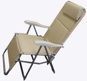 Кресло - шезлонг Green Glade 3219Кемпинговая мебель<br>Green Glade 3219 - кресло-шезлонг которое идеально подойдет для отдыха на природе. Прочный стальной каркас обеспечивает возможность максимальной нагрузки до 120 кг., а материал спинки и сидения имеет водооталкивающее покрытие. Для регулировки наклона спинки и подставки для ног приподнимите подлокотники, отрегулируйте наклон и зафиксируйте положение нажатием подлокотников вниз.<br>Характеристики<br><br><br><br><br> Max вес пользователя:<br><br><br> 120 кг.<br><br><br><br><br> Вес:<br><br><br> 7 кг.<br><br><br><br><br> Все размеры:<br><br><br> 52*52*46/110 см.<br><br><br><br><br> Гарантия:<br><br><br> 6 месяцев.<br><br><br><br><br> Каркас:<br><br><br> сталь 22 мм.<br><br><br><br><br> Материал:<br><br><br> полиэстер 600D с поливиниловым покрытием.<br><br><br><br><br> Особенности:<br><br><br> регулировка наклона в 6 положениях.<br><br><br><br><br> упаковка габариты см:<br><br><br> 107*64*17<br><br><br><br><br>