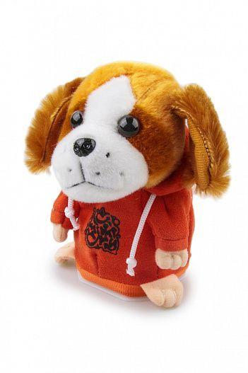 Интерактивная игрушка говорящая собака-повторюшка, для детей, для шутокИгрушки повторюшки<br>Интерактивная игрушка говорящая собака-повторюшка<br><br> Ваш ребенок только учится говорить? Хотите сделать ему полезный развивающий подарок? Испытываете стресс на работе и не знаете, как с ним бороться?<br><br><br> Наш интернет магазин предлагает вам недорогое решение всех этих проблем – купить интерактивную игрушку говорящую собаку-повторюшку по привлекательной цене и подарить ее своему чаду.<br><br><br> Такая интерактивная игрушка подарить множество приятных эмоций и впечатлений вам и вашему малышу, а также позволить поднять настроение и избавиться от стресса после напряженного трудового дня.<br><br><br> <br><br>Особенности интерактивной игрушки собаки<br><br> Современные дети с самого раннего возраста уже отдают предпочтение новым технологичным игрушкам. Сейчас мало кого из детей можно удивить куклой, которая умеет лишь только открывать и закрывать глаза или статичной забавой.<br><br><br> Недорогая игрушка говорящая собака-повторюшка станет настоящим открытием для вашего ребенка. Ее особенность в том, что она может повторить любую сказанную фразу или перепеть песню на забавный манер.<br><br><br> Такая особенность игрушки делает ее незаменимым помощником для развития малыша с точки зрения его речевых навыков и познания окружающего мира. Повторение слов и фраз позволит ребенку быстрее научиться говорить и социализироваться.<br><br><br> Мягкий и забавный пес станет фаворитом на детском празднике. Для этого вам достаточно произнести какую-то фразу, которую игрушка повторит забавным голосом, полностью копируя интонацию.<br><br><br> Вы также можете предложить детям спеть песенку, которую затем игрушка говорящая собака перепоет на свой манер. Это точно развеселит присутствующих.<br><br><br> Не стоит полагать, что такой говорящий друг – это развлечение только для маленьких детей. Попробуйте поговорить с собачкой после напряженного трудового дня, особенно если ваше настроение ос