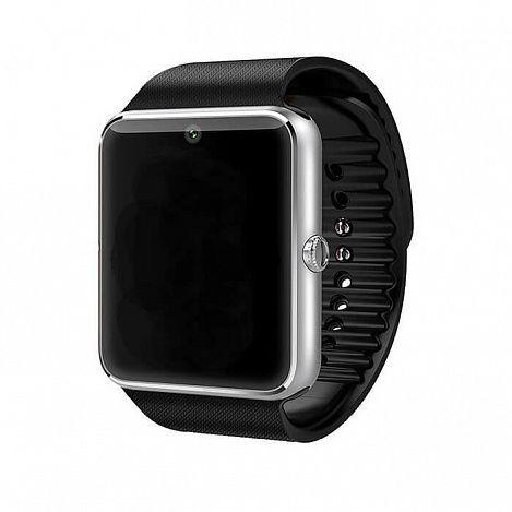 Смарт-часы Colmi GT 08 Bluetooth 3.0 (цвет серебристый)Аксессуары для смартфонов<br>Давно мечтаете обзавестись стильными и многофункциональными смарт-часами?<br><br><br>Тогда смарт-часы Colmi GT 08 Bluetooth 3.0 - часы, созданные специально для Вас!<br><br><br> <br><br>Смарт-часы очень легки и удобны. Устройство имеет множество полезных функций: будильник (отслеживание сна), шагомер, счетчик калорий, музыкальный плеер, уведомления о звонках, функция «ответ на звонок» и др. Часы синхронизируются со смартфоном посредством Bluetooth, поддерживают работу с устройствами на Android 4.4 и IOS 7.0 (и выше). Встроенный аккумулятор гаджета имеет ёмкость 300 мАч. Есть возможность установить T-Flash карту объёмом до 16Гб.<br><br><br> <br> <br><br><br>Стильный и практичный гаджет для тех, кто ведёт активный образ жизни. Смарт-часы имеют множество полезных функций и будут полезны в любой жизненной ситуации.<br><br><br>Держите руку на пульсе времени! <br> <br><br>Отличительные особенности:<br><br>- Экран: сенсорный TFT-дисплей 240х240  <br> - 12 языков интерфейса <br> - Встроенный аккумулятор ёмкостью 300 мАч <br> - Синхронизируется со смартфоном <br> - Материал: нержавеющая сталь, силикон <br> - Цвет: серебристый<br><br><br> <br> <br><br>Способ применения:<br><br> <br> <br><br><br>Зарядите устройство. Наденьте часы, отрегулируйте ремешок. Включите часы, войдите в меню, выберите иконку с QR кодом, просканируйте QR код с помощью смартфона. Скачайте и установите приложение. Приложение поддерживает только синхронизацию между смарт часами и смартфоном, интернет трафик не используется. Настройте работу часов согласно инструкции. Для предотвращения использования другими людьми установите пароль. <br><br><br> <br><br><br><br><br>Смарт-часы Colmi GT 08 Bluetooth 3.0 - Ваш компактный многофункциональный помощник в любой ситуации!<br><br> <br> <br><br><br>Комплектация:<br><br><br>Смарт-часы - 1 шт. <br> Адаптер питания - 1 шт. <br> USB кабель - 1 шт. <br> Картонная упаковка с русской наклей