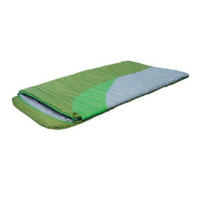 Спальный мешок Prival Берлога_2 (110см, капюшон, 450 гр./м2)Спальные мешки<br>Спальный мешок БЕРЛОГА II КМФ (Prival) – незаменимый туристический спальный мешок для охоты, рыбалки или просто отдыха в холодное время года. Такие характеристики спальному мешку придает объемный утеплитель из овечьей шерсти – шервисин. Это уникальное полотно обладает утепляющими и лечебными свойствами овечьей шерсти, и, в отличие от гусиного пуха, не слеживается после стирки, легче и компактнее, прост в уходе. Также, благодаря увеличенным размерам, этот спальный мешок подойдет высоким или полным людям, а также тем, кто любит спать свободно. Спальный мешок снабжен двухзамковой разъемной молнией, что позволяет быстро и легко соединить его с другим таким же спальником. Имеет сберегающую тепло планку по краям молнии с внутренней стороны. В нижней части спального мешка находятся петли для удобной просушки и хранения.<br>Характеристики:<br><br><br><br><br><br><br> Вес:<br><br><br> 3,350 кг<br><br><br><br><br> Все размеры:<br><br><br> Длина: 220 см, Ширина: 110 см<br><br><br><br><br> Гарантия:<br><br><br> 6 месяцев.<br><br><br><br><br> Диапазон температур,С:<br><br><br> Комфорт: +4/ Лимит комфорта:-5/ Экстрим:-20<br><br><br><br><br> Материал:<br><br><br> Материал внешней ткани: Poly Dewspa, Материал внутренней ткани: Смесовая с хлопком<br><br><br><br><br> Наполнитель:<br><br><br> Шервисин<br><br><br><br><br> упаковка габариты см:<br><br><br> 52*32*32<br><br><br><br><br>