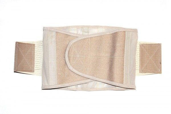 Утягивающий пояс для похудения Miss Belt (корсет песочные часы Мисс Белт ) бежевый, S/M, корректирующее белье для талии
