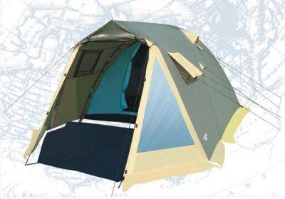 Палатка Campack Tent Camp Voyager 5Туристические палатки<br><br> Палатка Campack Tent Camp – это лучший выбор для выезда на природу большой компанией. <br><br><br> Размеры палатки позволяют спокойно передвигаться внутри в полный рост. <br><br><br> Несмотря на большие размеры палатки, вы легко установите ее практически в любой местности. <br><br><br> В палатке имеется два противоположных входа, что обеспечивает отличную вентиляцию. <br><br><br> Этому способствуют и дополнительные окна на боковых поверхностях тента, которые также защищены москитной сеткой и внешними шторами. <br><br><br> На главном входе расположены два прозрачных окна, пропускающих свет.<br> High Quality каркас изготовлен из фибергласса и стальных конструкций, которые не содержат изгибаемых элементов. <br><br><br> За счет этого палатка приобрела еще большую надежность. и устойчивость.<br> Проклеенные швы гарантируют герметичность и надежность в любой ситуации.<br><br>Характеристики:<br><br><br><br><br><br><br> Вес:<br><br><br> 12 кг.<br><br><br><br><br> Водонепроницаемость:<br><br><br> 3000 мм.<br><br><br><br><br> Все размеры:<br><br><br> Внешняя палатка 465(Д)x300(Ш)x190(В) см, внутренняя палатка 215(Д)x280(Ш)x180(В) см.<br><br><br><br><br> Высота:<br><br><br> 190 см.<br><br><br><br><br> Каркас:<br><br><br> фиберглас 11 мм, сталь 16 мм.<br><br><br><br><br> Материал внутренний:<br><br><br> P.Taffeta 170T. Ткань изготовлена из полиэфирных в<br><br><br><br><br> Материал пола:<br><br><br> армированный полиэтилен (tarpauling).<br><br><br><br><br> Материал внешний:<br><br><br> P.Taffeta 190T PU 3000 мм.<br><br><br><br><br> Обработка швов:<br><br><br> проклеенные швы.<br><br><br><br><br> упаковка габариты см:<br><br><br> 26*26*70<br><br><br><br><br>