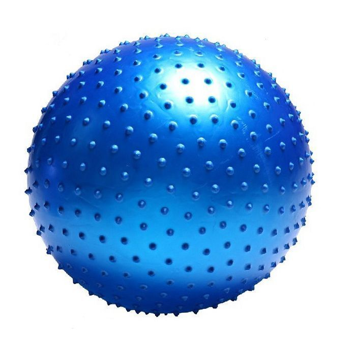 Мяч массажный Massage Ball 75 см с насосомФитболы<br>Могут ли занятия спортом быть одновременно эффективными и приятными?<br><br><br><br> Могут - вместе с мячом массажным Massage Ball 75 см с насосом!<br><br><br><br><br> Основная функция мяча – снятие нежелательной нагрузки с позвоночника и разгрузка суставов. Массажные элементы на мяче при перекатывании по телу воздействуют на нервные окончания, увеличивают приток крови и активизируют кровообращение. Занятия с мячом позволят Вам укрепить мышцы пресса, бёдер, ног при максимальном комфорте. Мяч изготовлен из высококачественного прочного материала и укомплектован насосом. <br><br>Преимущества мяча<br> <br><br><br><br><br><br> Массажные элементы по всей поверхности   <br><br> <br><br><br> Насос в комплекте   <br><br> <br><br><br> Прочный материал<br><br> <br><br>Способ применения<br><br> С помощью насоса накачайте мяч. Приступайте к занятиям. Если у Вас имеются какие-либо серьёзные болезни, перед началом тренировок проконсультируйтесь с врачом. Не используйте мяч вне помещений.<br><br><br> Мяч массажный Massage Ball 75 см с насосом - залог Вашего здоровья и отличного настроения!<br><br>Характеристики<br><br>Цвет: в ассортименте. Выбор конкретных цветов не предоставляется.<br><br>Вес в упаковке: 1,25 кг<br><br>Размер упаковки: 21,5*12,5*21,5 см<br><br>Диаметр: 75 см<br><br>Комплектация<br><br>Мяч массажный - 1 шт.<br><br>Насос - 1 шт.<br><br>Затычка - 1 шт.<br><br>Оригинальная англоязычная упаковка с русской наклейкой со со штрих-кодом<br><br> <br>