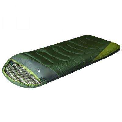 Спальный мешок PRIVAL Степной XLСпальные мешки<br><br> Спальный мешок СТЕПНОЙ XL (Prival)– модель, изготовленная из высококачественной ткани и наполнителя. По форме представляет собой одеяло увеличенных размеров с подголовником. Эта модель спального мешка прекрасно подойдет любителям летнего туризма, а также для отдыха на природе в демисезонный период. Несмотря на увеличенные размеры, модель имеет малый вес, компактную упаковку. Благодаря специальной молнии есть возможность состегивать два спальника вместе, а также в расстегнутом виде использовать как одеяло.<br><br><br> Особенности:<br><br><br> Возможность состегивания<br><br><br> Защита от заедания молнии<br><br><br> Утепляющая планка молнии<br><br><br> Петли для сушки<br><br>Характеристики:<br><br><br><br><br><br><br> Вес:<br><br><br> 2 кг.<br><br><br><br><br> Все размеры:<br><br><br> 220*95 см<br><br><br><br><br> Гарантия:<br><br><br> 6 месяцев.<br><br><br><br><br> Диапазон температур,С:<br><br><br> Комфорт: 10/ Лимит комфорта:4/ Экстрим:-7<br><br><br><br><br> Материал:<br><br><br> Полиэстер + хлопок,Нейлон<br><br><br><br><br> Наполнитель:<br><br><br> файберпласт<br><br><br><br><br> упаковка габариты см:<br><br><br> 40*30*30<br><br><br><br><br>