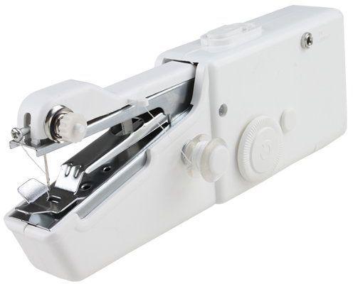 Ручна швейна машинка Handy Stitch (Хнди Стич), переносна, дл шить трикотажаШвейные машинки<br>Ручна швейна машинка Handy Stitch<br><br> Смотрите также - Машинка швейна Bradex Портнжка, компактна<br><br>Ручна швейна машинка Handy Stitch. Швейна машинка у Вас на ладони! Еще никогда прежде швейные машинки не были такими маленькими и удобными!<br> <br> Удивительное изобретение – Handy Stitch! Эта машинка идеальна в дальнем путешествии, на даче или в домашнем хозйстве, настолько она проста и не прихотлива.С помощь нее Вы сможете подшить, брки, пришить заплатку, укоротить шторы, сшить покрывало, сделать рисунок вышивкой на ткани и многое многое другое.<br> <br> Минимальные размеры — максимальные результат!<br> <br> Эта покупка окажетс полезной и необходимой как дл больших лбителей шить, так и дл тех, кто шьет постольку поскольку. Дл первых ручна швейна машинка станет надежным помощником в дороге, на отдыхе, в поездках — ведь пора длительных отпусков не за горами! Швейна машинка легка, компактна, удобна в использовании. С ее помощь Вы сможете починить и даже сшить вещи — на радость своим друзьм и родственникам, у которых будете гостить! Машинна строчка получаетс стетичной и аккуратной — Ваша вещь будет выглдеть достойно и качественно. Ну а дл тех, кто редко пользуетс швейной машинкой, та вещь станет разумной и практичной покупкой. К чему покупать дорогу и громоздку вещь, котора будет занимать место и пылитьс? Швейна мини-машинка позволит Вам с тем же успехом прострочить пару строчек. А потом Вы просто уберете ее в шкаф или комод.<br> <br> Преимущества:<br> <br> - Легкость в использовани.<br> <br> - Подшивать шторы, брки можно даже не снима их с карнизов.<br> <br> - Строчка получаетс аккуратной и тонкой.<br> <br> - Подходит дл шить декоративных лементов.<br> <br> - Можно брать с совой в поездку.<br> <br> - Работает от батареек.<br> <br> - Стоит дешевле обычной швейной машинки.<br> <br> - Имеет несколько удобных режимов дл шить.<br> <br> Портативна швейна машинка – лучшее, ч