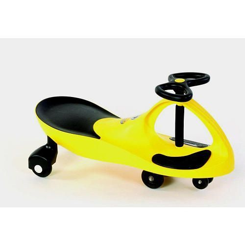 Детская машинка Bibicar (Бибикар) желтыйМашинки Бибикар<br>Детская машинка Bibicar (Бибикар) желтый<br> <br>Детская машинка Bibicar желтый – первый самоходный транспорт для вашего малыша. Этот товар совсем недавно появился в разных интернет-магазинах, но уже полюбился огромному количеству малышей и их родителям, о чем свидетельствуют восторженные отзывы. Для машинки не нужны батарейки и аккумуляторы, достаточно лишь поворачивать руль из стороны в сторону, и Бибикар поедет самостоятельно, под воздействием гравитации и центробежной силы. Также, совсем крохотный водитель может просто отталкиваться ногами. Самый подходящий возраст, чтобы купить ребенку детскую машинку Бибикар – 3 года, но и папа с мамой могут без опаски покататься на машинке – ведь она выдерживает нагрузку до 100 кг.<br> <br>Секрет увлекательных игр с Бибикар<br> <br> <br> <br>Малыши просто в восторге от Бибикар! И это – не преувеличение! Машинка – яркая, маневренная и удобная. И едет сама! А чтобы она поехала – не нужно ничего докупать или заряжать – просто крутите руль. Отличный детский аналог дорогостоящим электромобилям, тем более, что цена на Бибикар в интернет-каталоге Dirox – ниже некуда.<br> <br>Упасть с такой машинки тоже не удастся – дополнительная пара передних колес и особенности корпуса не позволят машинке перевернуться с маленьким водителем за рулем. Сиденье анатомической формы и прорезиненные вставки для ног обеспечивают комфорт и дополнительную безопасность ребенку. Кататься можно и дома – по линолеуму или паркету, и на улице – по бетону или асфальту. Вес машинки – около 4 кг, для взрослого или более старшего ребенка – совсем не тяжело.<br> <br>А вот увлекательный досуг, потрясающий аппетит, укладывание в кровать без капризов и крепкий сон малыша – вам обеспечены! Езда на самоходном велосипеде Бибикар развивает координацию движений, ориентацию в пространстве, выносливость и вестибулярный аппарат. Кроме того, это так важно для детей – управлять игровым процессом или своей игрушкой самосто