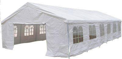 Садовый тент шатер Green Glade 3020 (СР-020)Тенты Шатры<br><br> В этом шатре площадью 72 кв. м. комфортно разместится 80 человек.<br><br><br> ВЫБОР ПОКУПАТЕЛЕЙ ДЛЯ ПРОВЕДЕНИЯ СВАДЕБ !!!<br><br><br> <br><br><br> Тент шатер Green Glade 3020 отличается просто огромной вместительностью. Он надежно защищает огромную компанию людей или оборудованияот знойного пекущего солнца, дождя, ветра и даже летающих насекомых.<br><br><br> Тент шатер можно использовать для организации летних кафе и зон отдыха. Подходит он и для проведения выставок под открытым небом, можно проводить в таком тенте шатре и всевозможные торжества. Приобретают этот шатер и для дачи. Тент шатер Green Glade 3020 пригодится везде, где есть необходимость комфортного размещения большого количества людей.<br><br><br> У шатра имеется ПВХ покрытие, которое надежно защитит Вас от дождя.<br><br><br><br><br> Часто такие шатры используют как тент над бассейном, чтобы туда не попадал мусор, листва, а также чтобы защититься от солнца, а может даже и дождя. А шатры с москитными сетками еще и прекрасно защитят купальщиков от насекомых.<br> В этом шатре, Вы сможете разместить бассейн шириной не более 5,8 м.<br><br>Характеристики:<br><br><br><br><br><br><br> упаковка габариты 2 место см:<br><br><br> 197*27*24<br><br><br><br><br> упаковка габариты 3 место см:<br><br><br> 72*71*53<br><br><br><br><br> Вес:<br><br><br> 150 кг.<br><br><br><br><br> Все размеры:<br><br><br> 12(Д)х6(Ш)х3,2(В) м. Площадь - 72 кв. м.<br><br><br><br><br> Высота:<br><br><br> 3,2 м.<br><br><br><br><br> Каркас:<br><br><br> металлическая трубка (D38/38/38 мм), металлические соединения.<br><br><br><br><br> Материал:<br><br><br> полиэстер 200 г с ПВХ покрытием.<br><br><br><br><br> Особенности:<br><br><br> Стенки на кольцах.<br><br><br><br><br> упаковка габариты см:<br><br><br> 300*27*18<br><br><br><br><br>