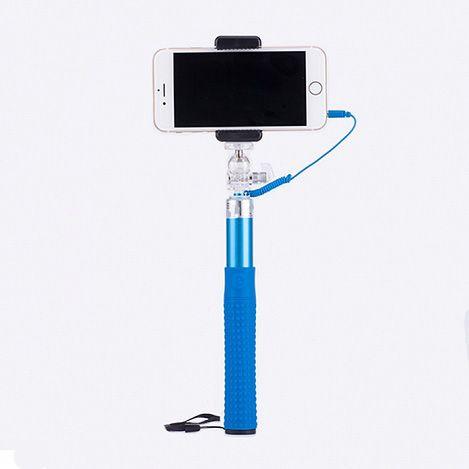 Монопод со встроенным кабелем и зеркаломАксессуары для смартфонов<br>Вам хочется быть в кадре со всей компанией, а не фотографироваться по очереди?<br><br><br>С моноподом со встроенным кабелем и зеркалом теперь все будут на одном снимке!<br><br><br> <br><br>Монопод совместим с любым смартфоном на базе iOS и Android. Держатель надёжно фиксирует Ваш гаджет с помощью удобного зажима и позволяет выбирать оптимальную дистанцию для снимка при помощи телескопической рукоятки. Прорезиненная ручка не даёт рукам скользить. А зеркало поможет выбрать наиболее удачный ракурс. Имея складной механизм, монопод поместится даже в дамскую сумочку. <br><br><br>Незаменимый верный спутник всех любителей селфи. Поможет сделать идеальные фото и видео. Малый вес и компактный размер аксессуара позволят с лёгкостью брать его с собой.<br><br><br>Делайте отличные селфи в любых условиях! <br> <br><br>Отличительные особенности:<br><br>- Работа через кабель <br> - Прорезиненная ручка <br> - Шнурок <br> - Встроенное зеркало <br> - Поворотный фиксатор<br><br>Способ применения:<br><br> <br> <br><br><br>Подсоедините держатель для смартфона к моноподу и закрепите на нём гаджет. Закрепите зеркало на держатель. Соедините смартфон и монопод при помощи кабеля. Войдите в режим камеры на смартфоне. Для осуществления фотосъёмки нажмите на кнопку на ручке монопода.<br><br><br> <br> <br><br><br><br><br>Не упустите важные моменты Вашей жизни с моноподом со встроенным кабелем и зеркалом!<br><br>Комплектация:<br><br><br>Штатив-монопод со встроенным кабелем - 1 шт.  <br> Зеркало - 1 шт. <br> Крепление для телефона - 1 шт. <br> Оригинальная англоязычная упаковка с русской наклейкой со штрих-кодом <br> Русскоязычная инструкция<br><br><br> <br> <br><br><br>Технические характеристики:<br><br><br>Цвет: в ассортименте. Выбор конкретных цветов не предоставляется. <br> Материал: нержавеющая сталь + ABS + силикон <br> Поворотный фиксатор <br> Максимальный вес: 500 гр.  <br> Длина: 23.5-100.5см  <br> Время зарядки: 1 ч.<br><