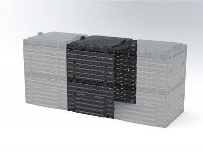 Соединитель для компостера садового Piteco 300 л K1030 чёрный