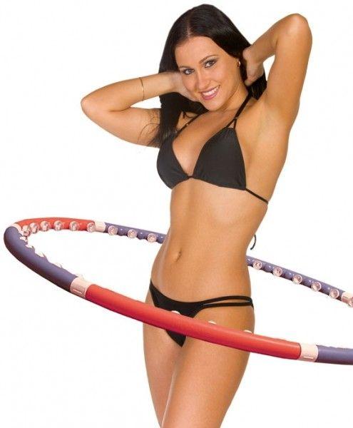 Массажный обруч для похудения Хулахуп - Acu Hoop Premium.Обручи с шариками<br>Массажный обруч Аку Хуп Премиум (Acu Hoop Premium Massager hoop)<br> <br> Посмотрите так же - Массажный обруч для похудения Хулахуп (Acu Hoop Pro)<br> <br>Acu Hoop Premium Massager hoop - представляет собой отличный массажный обруч для похудения с массажными шариками. Подходит для начального и среднего уровня, является более легкой моделью по сравнению с Acu Hoop Pro.<br> <br>С ним Вы сможете скорректировать свою фигуру, сжечь лишние калории и превратить свое тело в предмет для восхищения.<br> <br>Многие женщины и мужчины мечтают о том, чтобы сбросить вес, или иметь красивый накаченный пресс, но при этом на походы в спортзал, ежедневные тренировки дома или пробежки по утрам у них просто нет времени.<br> <br>Теперь с появлением Acu Hoop Premium все стало гораздо проще, нужно лишь 15-20 минут ежедневно и результат не заставит себя долго ждать. Вы можете смотреть кино, слушать музыку или одновременно крутить обруч.<br> <br>Массажный обруч состоит из 7 частей в каждой из которых по 7  вставок.<br> <br>Преимущества: <br>        <br>        <br>  <br> 1.Походит для начинающих. <br>  <br> 2. Массажные шарики отлично массируют и разбивают отложения. <br>  <br> 3. Легко разбирается и собирается. <br>  <br> 4. Прочный. <br>  <br> 5. Не дорогой. <br>  <br> 6. Простой в использовании. <br>  <br> 7. Всего 15-30 мин. В день и уже через 2 недели будет заметен результат. <br>  <br> <br>  <br> Рекомендации по использованию:<br> <br>1. Чтобы нагрузка была на талию, при использовании обруча держите ноги вместе. <br>  <br> 2. Движения должны быть плавными. <br>  <br> 3. Используйте обруч не ранее, чем через 2-3 часа после еды.<br>