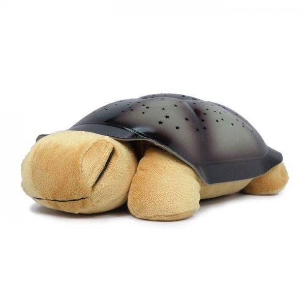 Ночник проектор звездного неба Музыкальная черепаха (Turtle Night Sky) бежевая, детский светильник для детейНочники проекторы звездного неба Черепаха<br><br> Ваша комната озарится светом тысячи разноцветных звездочек и наполнится спокойной мелодией. Отдыхайте, ужинайте с любимым человеком или укладывайте спать своего малыша в волшебной атмосфере вместе с недорогим чудо-светильником в виде прелестной мягкой черепашки.<br><br><br>  <br><br>Почему ночник-проектор пользуется такой популярностью?<br><br> Проектор Черепаха – абсолютный лидер продаж и настоящий любимец покупателей. Ни один светильник не хвалят в своих отзывах так часто, как этот. Да и есть за что! Ночью – это источник мягкого и спокойного света, а в дневное время – симпатичная мягкая игрушка. Несколько приятных мелодий усиливают очарование. Только представьте – ваши стены и потолок усеяны россыпью маленьких светлячков, которые словно парят в воздухе под волшебную музыку. Такое зрелище способно заворожить и ребенка и взрослого! Этот проектор пригодится вам:<br><br><br>если вы хотите создать романтическую обстановку для свидания или ужина тет-а-тет;<br>если вы готовитесь уложить непоседливого малыша спать;<br>если ваш ребенок боится засыпать в темноте;<br>если вы хотите сделать оригинальный и недорогой подарок близкому человеку;<br>если вы просто хотите расслабиться после напряженного дня.<br><br><br> Мерцание разноцветных звездочек радует глаз и успокаивает душу. Даже самый гиперактивный малыш не устоит перед очарованием проектора и будет, как завороженный, следить за сменой цветов и парением звездочек на потолке и стенах комнаты. После такого зрелища вам и вашему ребенку будут сниться только добрые и красивые сны, а отдых станет приятным и восстанавливающим. Создайте свой особый ритуал укладывания и засыпания вместе. А днем вы можете предложить своей крохе увлекательную игру – нажимать кнопочки и слушать нежную мелодию.<br><br><br>  <br><br>Преимущества<br><br>2 в 1 – светильник и игрушка одновременно;<br>