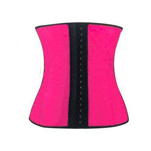 Корсет Sculpting Clothes (Waist Trainer) Розовый L-XLКорсеты для похудения<br><br> Воплощайте в жизнь свои мечты о тонкой талии вместе с нами! Здесь вы можете приобрести недорогой, но очень эффективный и популярный корсет Sculpting Clothes. Удобный корсет из латекса с тремя рядами крючков, гармонично сочетающийся с нижним бельем – идеальный подарок для себя, любимой. Торопитесь сделать заказ по самой привлекательной цене и удивляйте окружающих соблазнительной, подтянутой фигурой. <br><br><br> <br><br>В чем секрет популярности?<br><br> Стоит только одеть этот корсет – и потрясающий визуальный эффект вам обеспечен.  Во время носки корсета активизируется мышечная память и ваше тело, даже без принуждения, будет самопроизвольно держать спину ровно, а живот – втянутым.<br><br><br> Кроме того, корсет способен в разы увеличить эффективность и результативность тренировок или занятий фитнесом. Латекс не только уменьшает талию и живот, а и создает дополнительное термоводействие на самые проблемные участки вашего тела. Вы потеете и худеете одновременно! Вы можете без проблем выполнять любые упражнения – корсет не будет сковывать движения или мучить ваше тело впившимися косточками, твердыми застежками, врезающимися бретелями и прочими «прелестями» неудобной одежды для тренировок.<br><br>Что делает корсет?<br><br>выполняет коррекцию осанки и талии;<br>утягивает животик и «ушки» на боках;<br>способствует похудению;<br>держит под контролем ваш аппетит;<br>улучшает кровообмен, потоотделение и метаболизм;<br>ускоряет процесс сжигания жира в проблемных местах.<br><br><br> Это недорогой, но реальный и быстрый способ привести свое тело в порядок после родов. И он не мешает кормлению! Будьте притягательны и сексуальны всегда!<br><br>10 аргументов в пользу Sculpting Clothes:<br><br>Высокое качество исполнения корсета;<br>Мгновенный визуальный результат;<br>Эффективность после длительного применения;<br>Простота в использовании и уходе за корсетом;<br>Гигиеничность, эластичность и мягкость