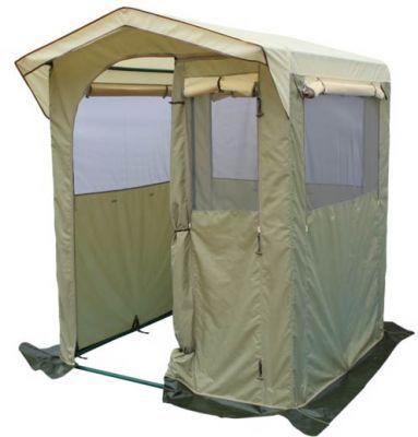 Палатка-кухня Митек Комфорт 2х2Тенты Шатры<br><br> Для комфортного приготовления пищи на природе идеально подходят удобные палатки-кухни. Каждая кухня оснащена окнами или стенками с противомоскитными сетками, которые закрываются шторками, одна из стенок используется как вход, регулируемый по ширине или по высоте (зависит от типа кухни)*. Тенты для таких кухонь сшиты из непромокаемой прочной ткани. На задней стенке есть регулируемое отверстие для провода(электрического или газового). Кухню легко собирать и разбирать, все детали каркаса надежно крепятся между собой, делая конструкцию устойчивой. Палатка-кухня надежно защитит от неблагоприятных погодных условий.<br><br><br> *Палатка-кухня Митек Комфорт 2х2<br><br><br>  Защитный козырек над входом<br><br><br>  Широкий вход закатывающийся вбок с возможностью регулировки по ширине<br><br><br>  Окно с сеткой на входе<br><br><br>  3 стенки с большими окнами защищенными антимоскитной сеткой, закрывающиеся шторками на молнии<br><br><br>  Вентиляционный клапан с москитной сеткой на задней стенке, снизу на задней стенке регулируемое отверстие для провода электричества или газа.<br><br><br>  Каркас изготовлен из прочной стальной трубы ? 25мм и усиленными узловыми соединениями (углами) , покрыт порошковой краской.<br><br><br>  Каркас палатки-кухни имеет нижнее основание и верхнюю обвязку, которые повышают прочность конструкции.<br><br>Характеристики:<br><br><br><br><br><br><br> упаковка габариты 2 место см:<br><br><br> 60*35*30<br><br><br><br><br> Вес:<br><br><br> 20,6 кг.<br><br><br><br><br> Водонепроницаемость:<br><br><br> 2000 мм.<br><br><br><br><br> Все размеры:<br><br><br> 2(Д)x2(Ш)x2,1(В) м. Площадь - 4 кв. м.<br><br><br><br><br> Высота:<br><br><br> 1,8 м/2,1 м.<br><br><br><br><br> Каркас:<br><br><br> Изготовлен из прочной стальной трубы ? 25мм,покрыт порошковой краской.<br><br><br><br><br> Материал:<br><br><br> Тент из прочной ткани с водоотталкивающим покрытием 240 Т 2000PU.<br><br><br><br><br> Обработка швов:<br><br><br>