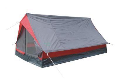 Палатка Green Glade MinidomeТуристические палатки<br><br> Дешевая однослойная палатка-домик с одним входом для непродолжительных выездов на природу в хорошую погоду в весенне-летний сезон.Она практически не занимает места в рюкзаке или сумке. Хорошо подойдет как:<br><br><br> Палатка для велопоходов и пеших походов, когда важен меньший вес и меньший размер.<br><br><br> Фестивальная палатка.<br><br><br> Палатка для походов выходного дня.<br><br><br> Палатка для летней рыбалки с ночевкой.<br><br><br> Водостойкость тента 1000 мм, что вполне достаточно для защиты от дождя и ветра. Однако надо помнить, что швы в этой модели не проклеены, поэтому если Вы собираетесь на природу в дождливую погоду, то лучше выберите палатку подороже, с проклеенными швами.<br><br><br> Дно палатки полностью водонепроницаемо и сделано из прочного армированного полиэтилена.<br><br><br> Это достаточно легкая палатка. Вес ее с двумя стойками каркаса 1560 г.!!! Если для Вас важно максимально облегчить свой рюкзак, то Вы можете не брать с собой стойки каркаса, их легко можно заменить двумя найденными на месте стоянки палками, и тогда вес палатки будет всего 940 г.!!! <br><br><br> Эту легкую двускатную палатку можно очень просто установить буквально за 3-5 минут.<br><br><br> Москитная сетка на входе в палатку дублируется глухой дверью, которая застегивается на молнию.<br><br><br> Вентиляция осуществляется через вентиляционный клапан на задней стенке палатки, который представляет собой треугольное окошко из москитной сетки,  закрытое снаружи водонепроницаемым клапаном, который можно приоткрыть для лучшей вентиляции.<br><br><br> Внутри палатки есть кармашек для мелочей.<br><br><br> Эта модель полный аналог палатки High Peak Minipack, с сохранением всех достоинств палатки немецкого концерна Simex Sport.<br><br><br> <br><br><br> Палатка может использоваться как палатка для пеших и велопоходов, а также как фестивальная палатка.<br><br>Характеристики:<br><br><br><br><br><br><br> Вес:<br><br><br> 1,56 кг.<b
