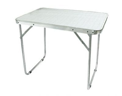 Стол Woodland Camping Table Light, складной, 70 x 50 x 60 см (алюминий) TABS-01 (63242)Кемпинговая мебель<br>Стол Woodland Camping Table Light, складной, 70 x 50 x 60 см (алюминий) TABS-01 (36242) отличный вариант для путешествия и на даче. Столешница стола изготовлена из ХДФ с полимерным покрытием. Устойчивость столика обеспечивается фиксируемой ломберной петлей на ножках стола. Ножки складываются вовнутрь столешницы. Наличие складного столика - прекрасное решение для организации пикника на открытом воздухе. Складной стол необходим в малогабаритном помещении. Очень удобен во всех отношениях - маленький размер,легок в переноске, можно быстро убрать для создания свободного пространства. Так же радует доступная цена!<br>Характеристики<br><br><br><br><br> Max вес пользователя:<br><br><br> 20 кг.<br><br><br><br><br> Вес:<br><br><br> 3 кг.<br><br><br><br><br> Все размеры:<br><br><br> 70 x 50 x 60 см<br><br><br><br><br> Высота:<br><br><br> 60 см<br><br><br><br><br> Каркас:<br><br><br> алюминий 16х1 мм<br><br><br><br><br> Материал:<br><br><br> ХДФ с полимерным покрытием<br><br><br><br><br> упаковка габариты см:<br><br><br> 76*55*7<br><br><br><br><br>