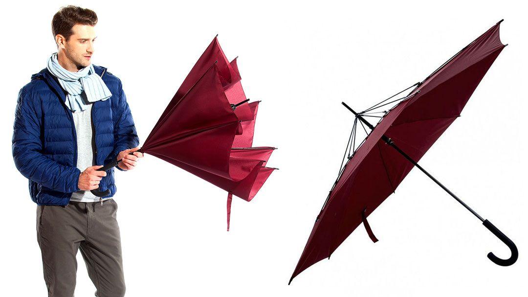 Зонт-наоборот Антизонт, Bradex (Брадекс), от дождяОригинальные подарки<br>Зонт-наоборот Bradex Антизонт<br> <br> <br>  <br> <br>  <br>Обычный зонт складывается мокрой стороной наружу — это значит, при закрытии у вас будут мокрым все с чем соприкасается ваш зонт. Помимо этого у вас всегда будет проблема сушки. Необходимо раскрывать зонт полностью, чтобы его высушить.<br> <br>Представляем Вашему вниманию новинку, зонт, который складывается мокрой стороной внутрь. Зонт изготовлен по абсолютно новой технологии, которая позволяет складывать его мокрой стороной вовнутрь. Таким образом, вы не забрызгаете ни себя, ни окружающих. С таким зонтиком можно зайти в общественный транспорт, магазин или просто сесть в машину — все капли останутся внутри. Сушка также не вызовет проблем, ведь «зонт-наоброт» не надо опирать на специальную стойку, он прекрасно стоит на собственных «ножках».<br> <br> <br>  <br> <br> <br><br>  <br><br><br>Особенности Антизонта:<br> <br>Качественные материалы - прочные спицы, не складываются даже при сильном ветре<br> <br>Сухой снаружи - после использования можно положить и он не оставит мокрых следов под собой<br> <br>Уникальный механизм складывания - в сложенном виде может вертикально стоять на полу, не занимая много места<br> <br> <br>  <br> <br> <br> <br>  <br> <br> <br> <br>  <br> <br> <br>Потяните за специальную ручку вверх, пока зонт не раскроется полностью. После того, как дождь закончится, закройте его, потянув ручку на себя — все капли воды останутся внутри.<br> <br> <br>  <br> <br> <br>Характеристики:<br> <br>Длина: 85 см.<br> <br>Диаметр купола: 114 см.<br> <br>Материал: понжи, сталь, полипропилен<br> <br> <br>  <br> <br> <br>Для оптовых покупателей:<br> <br>Чтобы купить Зонт-наоборот оптом, необходимо связаться с нашими операторами по телефонам, указанным на сайте. Вы сможете получить значительную скидку от розничной цены в зависимости от объема заказа.<br> <br>Для получения информации о покупке товаров посетите разделОптовых продаж<br> <br> <