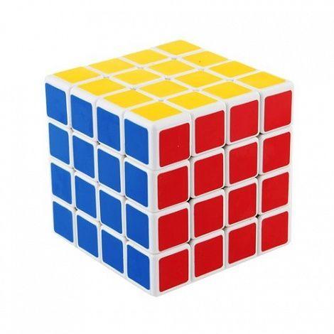 Скоростной Кубик Рубика (Rubiks Cube) 4х4, размер 6 смКубики Рубика<br>Скоростной Кубик Рубика (Rubiks Cube) 4х4<br> <br>Хит индустрии игрушек-головоломок кубик Рубика 4х4х4. Настоящий прорыв в области технологий умных развлечений! Современная модификация всем давно и хорошо известного прародителя всех головоломок Эрно Рубика, который имеет лишь три подвижных слоя в каждой плоскости (3х3х3).<br> <br>Особенности Кубика Рубика 4х4<br> <br>Те из Вас, кто хоть когда-либо пробовали собирать традиционный кубик-рубик, откроют массу интересных закономерностей, похожих на классическую версию, но, кроме того, обязательно столкнутся и с совершенно иными алгоритмами сборки более сложного его собрата. Достаточно сказать, что модель 4х4х4 имеет на порядок больше вариантов сборки и, само собой сложнее на тот же порядок. Многочисленные изменения в сравнении с кубиком 3х3х3 претерпел и механизм внутреннего устройства этой модификации. Это касается не только принципа механики вращения слоев, но и материалов самого каркаса головоломки.<br> <br>Технологии последних лет неизбежно вмешиваются в самые неожиданные области нашей жизни, не стало исключением и «игрушкостроение». Тем из любителей тихих развлечений, кто удосужится стать обладателем этой головоломки, мы искренне желаем успехов и занимательного досуга в компании c Кубиком Рубика 4х4.<br> <br>Технические характеристики<br> <br> <br>  Модель: «Кубик рубика 4х4»<br> <br>  Материал: пластик<br> <br>  Возраст: от 8 лет<br> <br>  Размер: 60х60х60 мм<br> <br>  Срок службы: не ограничен<br> <br>  Габариты: 60x60x60 мм<br> <br>  Вес: 238 г<br> <br>