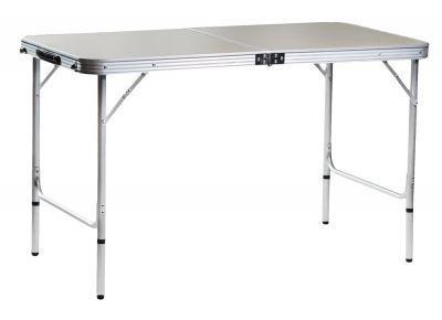 Стол-чемодан складной Green Glade  5104Кемпинговая мебель<br><br> Green Glade 5104 - удобный, большой стол, за которым легко разместится компания до 6 человек. <br><br><br> Предназначен для выхода в поход или на пикник. <br><br><br> Стол складывается в относительно небольшой и легкий чемоданчик с ручкой удобный для переноски. <br><br><br> Покрытие столешницы меламин не более токсичен чем обычная поваренная соль, плюс обладает водооталкивающими свойствами.<br><br>Характеристики<br><br><br><br><br> Max вес пользователя:<br><br><br> до 20 кг.<br><br><br><br><br> Вес:<br><br><br> 4,2 кг.<br><br><br><br><br> Все размеры:<br><br><br> 120*60*71см.<br><br><br><br><br> Гарантия:<br><br><br> 6 месяцев.<br><br><br><br><br> Каркас:<br><br><br> алюминий 24 мм.<br><br><br><br><br> Материал:<br><br><br> столешница МДВ, покрытие меламин.<br><br><br><br><br> упаковка габариты см:<br><br><br> 60*60*7<br><br><br><br><br>