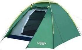 Палатка Campack Tent Rock Explorer 2 (2013)Туристические палатки<br>Данная модель предназначена для различных неэкстремальных видов туризма. Может пригодиться как в пешем, так и в водном походе. Имеет сравнительно небольшой вес, при достаточной вместимости. Рассчитана на двоих человек. Если вы ищете компактную палатку, без лишних деталей – это ваш вариант. Она имеет один вход с небольшим тамбуром, куда вполне поместятся два рюкзака. Внутренняя палатка подвешивается к тенту. Это достаточно удобно, если установка ее происходит под дождем. В этом случае вещи можно спрятать под тент, и они останутся сухими. Палатка рассчитана на достаточно сильный дождь, может выдержать продолжительную сырую погоду. Это особенно актуально, если поход происходит осенью. Внутри палатки имеется карман и подвесная полка.<br>Характеристики:<br><br><br><br><br> Вес:<br><br><br> 3,5 кг.<br><br><br><br><br> Водонепроницаемость:<br><br><br> тент 3000 мм. в ст., дно 10000 мм. в ст.<br><br><br><br><br> Все размеры:<br><br><br> внешняя палатка 255*175 см, внутренняя палатка 200*160 см<br><br><br><br><br> Высота:<br><br><br> 128 см<br><br><br><br><br> Каркас:<br><br><br> фиберглас 7,9 мм.<br><br><br><br><br> Материал внутренний:<br><br><br> полиэстер (Taffeta 170T)<br><br><br><br><br> Материал пола:<br><br><br> армированный полиэтилен (tarpauling).<br><br><br><br><br> Материал внешний:<br><br><br> полиэстер (Taffeta 190T PU)<br><br><br><br><br> Обработка швов:<br><br><br> проклеенные швы<br><br><br><br><br> Особенности:<br><br><br> небольшой тамбур, противомоскитная сетка на входе в спальное отделение<br><br><br><br><br> упаковка габариты см:<br><br><br> 70*18*18<br><br><br><br><br>