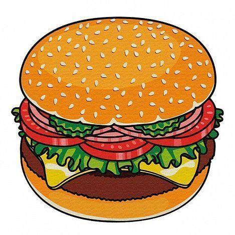 Круглое пляжное полотенце Гамбургер (150х150 см)Товары для отдыха<br>Собрались отдохнуть и позагорать на пляже?<br><br> Не забудьте захватить с собой круглое пляжное полотенце Гамбургер (150*150 см)! Пляжное полотенце изготовлено из ультратонкого приятного на ощупь материала и имеет очень оригинальный дизайн в виде гамбургера. Принт высокого качества не боится температурных перепадов и воздействия ультрафиолетовых лучей. <br><br> Преимущества пляжного полотенца: <br><br> Оригинальный дизайн <br> Яркие стойкие цвета<br> Прочный материал<br><br>Способ применения: <br><br> Используйте полотенце в качестве подстилки на пляже, во время пикника или отдыха на природе. Круглое пляжное полотенце Гамбургер (150*150 см) - яркий аксессуар для яркого времени года!<br><br>Комплектация <br><br>Полотенце - 1 шт.<br>Упаковка-пакет с русской наклейкой со штрих-кодом <br><br>Технические характеристики <br><br>Цвет: мультиколор<br>Материал: ультратонкое волокно (микрофибра)<br>Вес в упаковке: 700 гр.<br>Размер упаковки: 41*11*11 см<br>Размер полотенца: 150*150 см<br><br>
