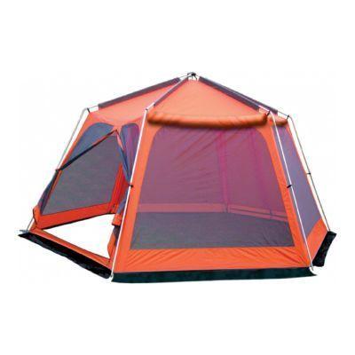 Тент-шатер Sol Mosquito SLT-009.02 оранжевыйТенты Шатры<br><br> Просторный каркасный кемпинговый шатер. Предназначен для отдыха на открытом воздухе в летнее время. Отлично подходит для размещения кухни или столовой во время автомобильного путешествия или на даче. Спасает от легкой непогоды, солнца и насекомых. Внутри можно разместить набор кемпинговой мебели для дружеских посиделок, а в крайнем случае и дополнительные спальные места. <br><br><br> <br><br><br> Кемпинговая серия Sol.<br><br><br> Основные особенности:<br><br><br>Действительно удобная и логичная конструкция позволяет установить шатер даже новичку, не требуя никаких дополнительных знаний и навыков.<br>Стенки шатра оборудованы убирающейся защитой от дождя, ветра или света.<br>Шатер снабжен ветрозащитной юбкой.<br>Ремнабор в комплекте.<br><br>Характеристики:<br><br><br><br><br> Вес:<br><br><br> 9,38 кг.<br><br><br><br><br> Водонепроницаемость:<br><br><br> 3000 мм.<br><br><br><br><br> Все размеры:<br><br><br> 4,3(Д)х3,7(Ш)х2,25(В) м. Площадь - 12 кв. м.<br><br><br><br><br> Высота:<br><br><br> 225 см.<br><br><br><br><br> Каркас:<br><br><br> сталь 16 мм.<br><br><br><br><br> Материал:<br><br><br> Полиэстер 75D 190T PU.<br><br><br><br><br> Обработка швов:<br><br><br> швы проклеены.<br><br><br><br><br> Особенности:<br><br><br> Два входа. Москинтые и глухие стенки. Ремнабор в комплекте.<br><br><br><br><br> Площадь:<br><br><br> 12 кв. м.<br><br><br><br><br>