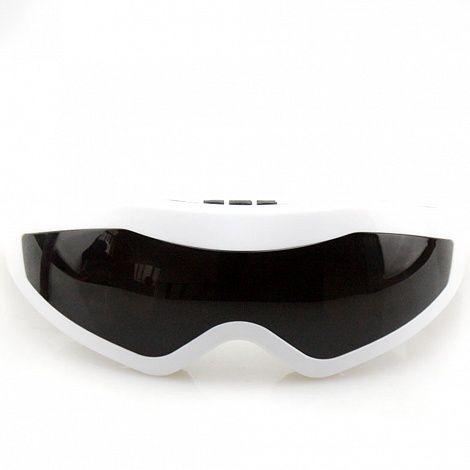 Массажер для глаз, массажер очки-тренажер Fitstudio (24 массажных элемента), магнитныеМассажеры для глаз<br><br>   Руководство по эксплуатации, инструкция Очки-тренажер FitStudio<br><br><br>Массажер для глаз Fitstudio – дешевый и эффективный способ восстановить утраченную остроту зрения, а также решить ряд других проблем. Приспособление выполнено в виде обтекаемых очков с затемненными стеклами и крепится на голове владельца при помощи липучек и эластичного ремешка. Основное воздействие на человека оказывают силиконовые «пальчики» с магнитами, расположенные по всей внутренней части очков. Расслабляющий акупунктурный массаж и слабое магнитное поле оказывают благотворное влияние на такой деликатный участок лица, как кожа вокруг глаз, и уже после 30 применений вы сможете радоваться первым положительным результатам.<br><br>Какие проблемы помогают решить очки?<br><br> Очки не так давно появился в продаже, однако уже успели помочь огромному количеству человек. Приспособление разработано с таким расчетом, чтоб человек мог восстановить зрение без операционного вмешательства. При этом, сама процедура максимально проста. Для того, чтобы ощутить первые положительные результаты, достаточно уделять занятиям по 10-15 минут 1-2 раза в день.<br><br><br> <br><br><br> Аккуратное воздействие силиконовых «пальцев» помогает ускорить приток крови к коже вокруг глаз. Как следствие, ускоряется обмен веществ и отток жидкости, глазные мышцы приходят в тонус, снимается напряжение и нормализуется глазное и внутричерепное давление.<br><br><br> Приобрести просто жизненно важно, если вы постоянно нагружаете свои глаза. Например, много времени проводите перед монитором компьютера или экранами видеонаблюдения, работаете водителем, офисным клерком, просто находитесь в запыленном помещении или вынуждены постоянно прищуриваться.<br><br>Преимущества<br><br> <br><br><br> Данная модель выгодно отличается от подобных приборов простотой и надежностью устройства и привлекательным внешним видом.<br><br><br>Эф