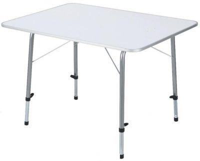 Стол складной TREK PLANET Picnic 80 с телескоп. ножками White 70664/TA-561Кемпинговая мебель<br>Складной стол с телескопическими ножками.<br>Характеристики<br><br><br><br><br> Max вес пользователя:<br><br><br> 50 кг.<br><br><br><br><br> Вес:<br><br><br> 6,9 кг.<br><br><br><br><br> Все размеры:<br><br><br> 60*80*50/69 см.<br><br><br><br><br> Гарантия:<br><br><br> 6 месяцев.<br><br><br><br><br> Каркас:<br><br><br> сталь 22/19 мм.<br><br><br><br><br> Материал:<br><br><br> огнеупорный пластик (до 140 С).<br><br><br><br><br> Особенности:<br><br><br> Телескопические ножки.<br><br><br><br><br> упаковка габариты см:<br><br><br> 86*62*6<br><br><br><br><br>