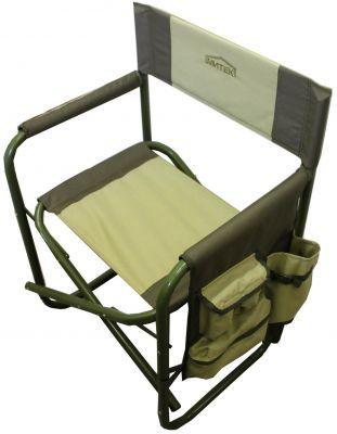 Кресло складное Митек Люкс с органайзером 02Кемпинговая мебель<br><br> Превратите рыбалку в настоящий отдых!<br><br><br> Любители отдыха на открытом воздухе непременно берут с собой на природу складные кресла. Этот атрибут уже давно стал обязательным для дачников и туристов.<br><br><br> Такие кресла непременно пригодятся и во время рыбной ловли. Как-никак рыбаку приходится находиться в одном положении долгое время, а сидеть на холодной бугристом земле не только неудобно, но и может плохо сказаться на здоровье. Поэтому важно подобрать себе качественное кресло для рыбалки.<br><br><br> Кресло складное Митек Люкс отлично справится с этой задачей. Оно отличается повышенной прочностью и выдерживает до 200 кг. Кресло элементарно складывается и удобно в переноске. А специально для рыбаков Митек Люкс оснащено органайзером со множеством карманов, в который вы сможете разложить все свои мелкие рыболовные аксессуары и иметь к ним быстрый доступ, не вставая с удобного места.<br><br><br> Кресло для рыбалки Митек Люкс подарит Вам надежность, комфорт и приятные воспоминания от отдыха на природе!<br><br>Характеристики<br><br><br><br><br> Max вес пользователя:<br><br><br> 200 кг<br><br><br><br><br> Вес:<br><br><br> 4,6 кг.<br><br><br><br><br> Все размеры:<br><br><br> сидение 33 х 50 см, высота сидения 45 см, высота спинки 80 см, ширина спинки 61 см.<br><br><br><br><br> Гарантия:<br><br><br> 12 месяцев.<br><br><br><br><br> Каркас:<br><br><br> стальная труба 25 мм, покрытая порошковой краской.<br><br><br><br><br> Материал:<br><br><br> Ткань - плотностью 600 D, в два сложения.<br><br><br><br><br> упаковка габариты см:<br><br><br> 85*51*11<br><br><br><br><br>