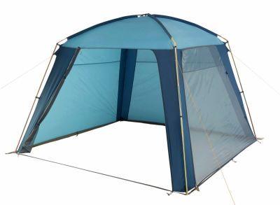 Тент-шатер Trek Planet Rain Dome (70252/70262)Тенты Шатры<br>Прекрасная модель для любителей отдохнуть на природе. Шатер защитит вас от дождя и от солнечных лучей. Удобная, устойчивая конструкция, два входа с москитными сетками. Для большей устойчивости по всему периметру располагается ветрозащитная юбка. Рассчитан на средний дождь, но может выдержать и короткий ливень. При необходимости в шатре можно организовать обеденный стол, удобно разместившись вокруг него. Также имеется возможность вставать в полный рост. Внутри шатра есть специальное крепление для фонаря.<br>Характеристики:<br><br><br><br><br> Вес:<br><br><br> 7 кг.<br><br><br><br><br> Водонепроницаемость:<br><br><br> 2000 мм.<br><br><br><br><br> Все размеры:<br><br><br> 3,2(Д)*3,2(Ш)*2,10(В) м. Площадь - 10,24 кв. м.<br><br><br><br><br> Высота:<br><br><br> 210 см.<br><br><br><br><br> Каркас:<br><br><br> стеклопластик 12,7 мм, сталь 19 мм.<br><br><br><br><br> Материал:<br><br><br> 100% полиэстер, пропитка PU.<br><br><br><br><br> Обработка швов:<br><br><br> Все швы проклеены.<br><br><br><br><br> Особенности:<br><br><br> Пластиковый адаптер надежнее соединяет контур шатра<br><br><br><br><br> упаковка габариты см:<br><br><br> 86*20*20<br><br><br><br><br>