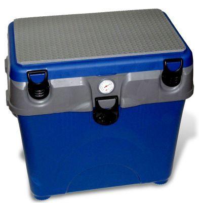 Ящик для зимней рыбалки A-elita (A-Box)Зимние ящики рыболовные<br><br> Морозо-ударостоикий ящик из прочного пластика, не пропускающего воду. Внутренние перегородки позволяют равномерно распределять рыболовные принадлежности и улов.<br><br><br> Рыболовный ящик для рыбака — это одновременно и сиденье, и хранилище улова. Кроме того, зимний рыболовный ящик - прекрасное место для хранения инструментов и приспособлений, предназначенных для ловли: это снасти, набор грузил, экстрактор, прикормки и многое другое.<br><br><br> Современные рыболовные ящики обладают высокими теплоизолирующими свойствами при небольшом весе.<br><br>Характеристики<br><br><br><br><br> Вес:<br><br><br> 3,12 кг.<br><br><br><br><br> Все размеры:<br><br><br> 38*26*40 см<br><br><br><br><br> Гарантия:<br><br><br> 6 месяцев.<br><br><br><br><br> Материал:<br><br><br> Морозо-ударостоикий пластик.<br><br><br><br><br> Особенности:<br><br><br> органайзер в крышке, съемная внутренняя перегородка, съемные внешние карман и полка.<br><br><br><br><br> упаковка вес кг:<br><br><br> 3.12<br><br><br><br><br> упаковка габариты см:<br><br><br> 39*27*41<br><br><br><br><br>