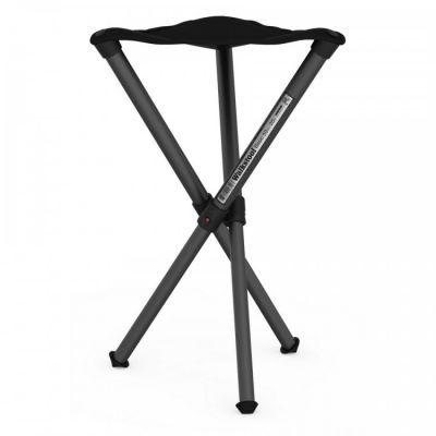 Стул складной Walkstool Basic B50 телескопические ножки, до 150 кгКемпинговая мебель<br><br> Вам порою не хватает на природе легкого и компактного раскладного стула? Приходится сидеть на подвернувшемся пеньке или даже на земле? Эту проблему с легкостью решит складной стул Walkstool B50.<br><br>ОПИСАНИЕ CКЛАДНОГО СТУЛА WALKSTOOL B50:<br><br> Данная модель практически незаменима, если вы отправляетесь на рыбалку или хотите с комфортом отдохнуть на природе в компании друзей. <br><br><br> Раскладной стул в сложенном виде занимает совсем немного места, а его вес равен всего 650 г. Поэтому среди прочего багажа стул Walkstool B50 не будет особенно ощутим. <br><br><br> Тем более удобно захватить с собою такую мебель, если отдыхать вы отправляетесь на автомобиле.<br><br><br> Walkstool B50 изготовлен по запатентованной шведской технологии с соблюдением строгих европейских и международных стандартов качества. <br><br><br> Поэтому можно с полной уверенностью утверждать, что раскладной стул прослужит по-настоящему долго. Производитель предлагает гарантию на данную модель, действительную на протяжении двух лет после покупки.<br><br><br> Удобство использования складного стула с телескопическими ножками заключается в том, что при небольшом весе и размере, это изделие предлагает высокий уровень комфорта. <br><br><br> Высота разложенного стула составляет 50 см. Этого вполне достаточно, чтобы сидеть на нем человеку среднего роста с таким же удобством, как и на домашних стульях. <br><br><br> Размер сиденья в 32,5 см. Стул выдерживает максимальную нагрузку в 150 кг. Такая прочность обусловлена выбором качественных материалов, из которых стул изготовлен. <br><br><br> Его основу составляет конструкция из трех алюминиевых ножек, покрытых слоем защитного анодирования. Все ножки соединены между собою на некоторой высоте, поэтому процесс раскладывания конструкции предельно прост и займет всего несколько секунд. Телескопические выдвижные ножки легко удлиняются и надежно фиксируются в выбранном